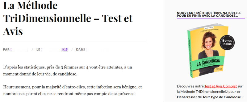 exemple d'article affiliation